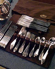 Ask Martha: Protective Cloth for Silver - Martha Stewart Home & Garden