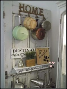Adore this Door for Kitchen Storage