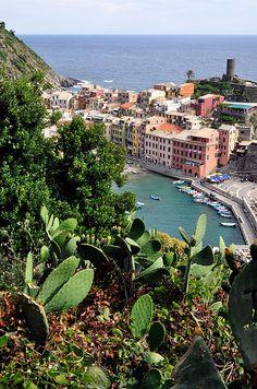 Village of Vernazza, Italy