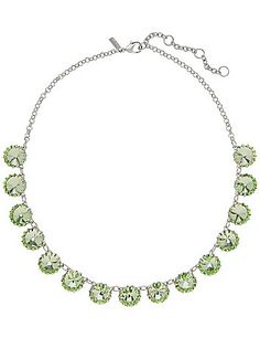 A sweet way to wear green - our cupcake stone necklace! #LaneBryant