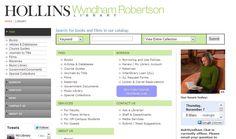 Hollins University - Wyndham Robertson Library http://www.hollins.edu/library/