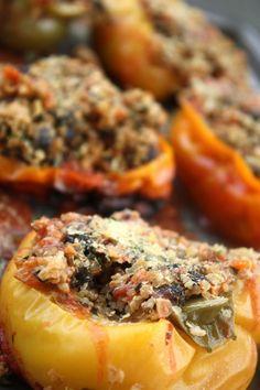 Quinoa Stuffed Vegan Peppers