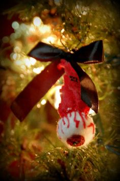 Eye Eyeball Ornament Horror Goth Christmas Tree by Th1rte3nsCloset, $6.00