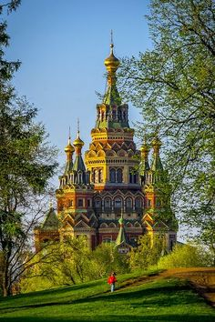 Sts. Peter's and Paul Cathedral in Saint Petersburg, Russia