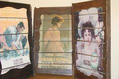 Vintage Coca-Cola Victorian Style Raisin Drying Rack - SALE. $119.00, via Etsy.