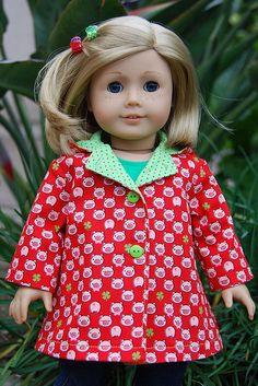 American Girl doll pattern. Simplicity 3551
