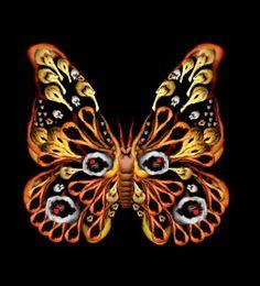 . bodi art, butterflies, cecelia webber, nude human, artist, human bodi, human body, human butterfli, flower