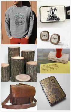 Unique gifts from @Etsy that the groom in your life will be sure to love…