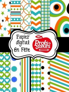 FREE//Digital Paper: En fête!