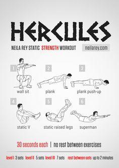 Hercules Workout