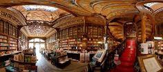 dream big, books, livraria lello, dream library, librari, portugal, bucket lists, art nouveau, porto