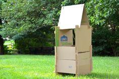 DIY Cardboard Construction Play Set
