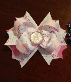 Princess boutique bow by AHBH on Etsy, $7.00