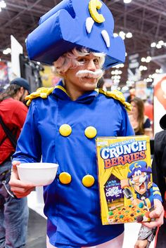Captain Crunch costume. View more EPIC cosplay at http://pinterest.com/SuburbanFandom/cosplay/ #ComicCon #Cosply