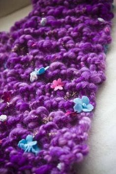 Quirky Quit Knit Scarf