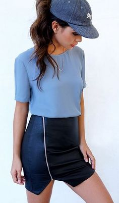 Fashion meets casual <3 this is perfect. #lulus #trendslove
