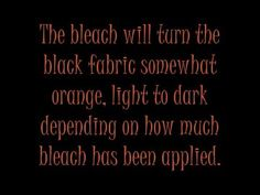 Bleach Pen Skeleton Shirt Tutorial