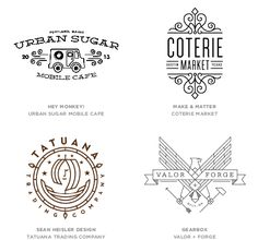2014 Logo Trends :: Mono Crest