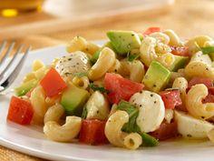 Barilla PLUS® Elbows Salad with Avocado, Tomato and Mozzarella