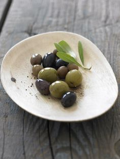 #Rustic bowl with #olives
