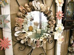 Dishfunctional Designs: Creative Things To Do With Old Baby Shoes