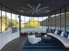 living room - lake house