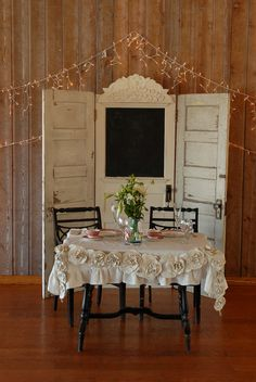 Rustic Wedding Decorations | Real Weddings: April + Martin { Vintage Passion With A Romantic Twist ...