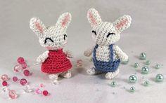 bunnies  - free crochet pattern