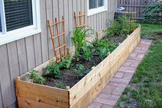 recip pictur, raised gardens, garden updat, front yard landscape diy, fenc