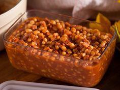Baked Beans with Ham Recipe : Ellie Krieger : Food Network - FoodNetwork.com