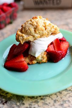 Berry Shortcake by Ree Drummond / The Pioneer Woman, via Flickr