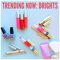 Spring is here to stay and so are new makeup trends! #MallyTrends