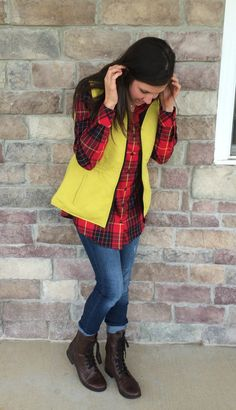 Plaid Top, Yellow Ve