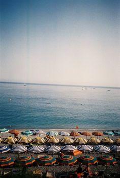 beaches, cinque terre, umbrellas, beach houses, at the beach, sea, beach photography, travel, place
