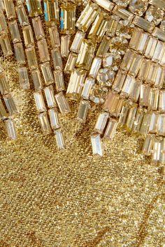 Alexander McQueen Crystal-embellished silk-blend gownss2013