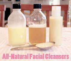 natural facial cleansers