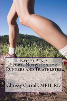 "One of our graduates, Chrissy Carroll, MPH, RD, LDN, has published a new book ""Eat to Peak:  Sports Nutrition for Runners and Triathletes."" Congratulations Chrissy! http://www.amazon.com/Eat-Peak-Nutrition-Triathletes-ebook/dp/B00FDZA7SC"
