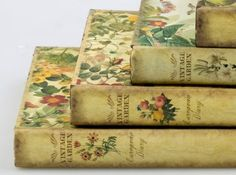 Such wonderfully pretty vintage books. #vintage #books #reading #beautiful #home #decor
