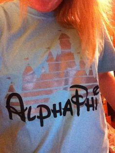 Alpha Phi Disney