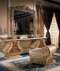 Glam Luxury Bedroom Furniture @}-,-;—