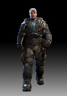 """A younger Baird in """"Gears of War: Judgement"""" - Yummy!!"""