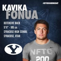 BYU Football - Signing Day Player Card