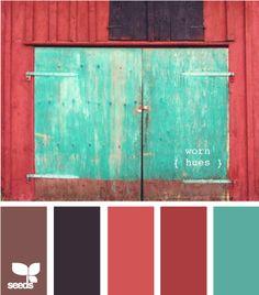 worn hues