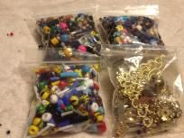 Huge Lot of Mixed Beads.  FREE SHIPPING