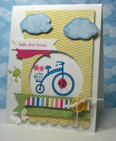 move forward, bicycles, beaches, beach stamp, greeting cards, bicycl stamp, stamp paper, paper crafts, moving forward