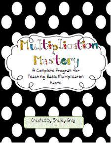 A few tricks for teaching multiplication