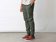 Wool Baseball Pants from Muttonhead