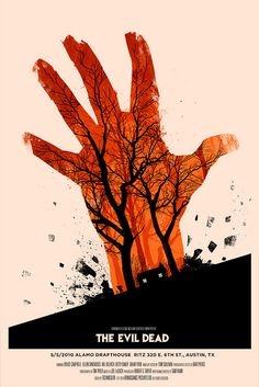 Orange Hand by Olly Moss