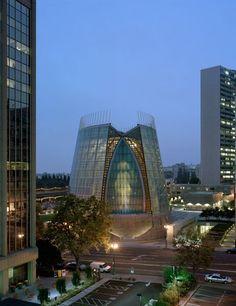 lights, architectural digest, cathedr, church, light design, california, oakland, christ, contemporary design