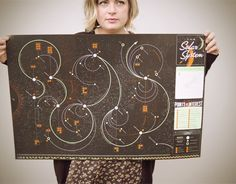 Map of the known universe, for the space enthusiast.